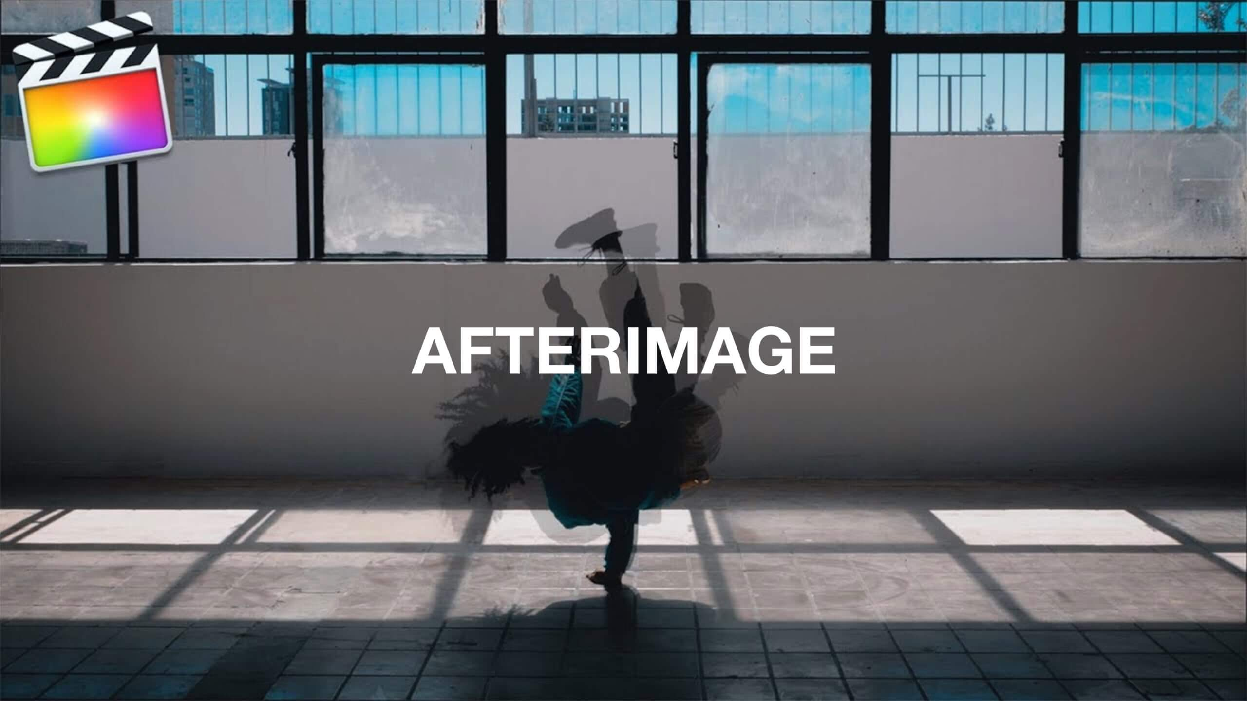 Final Cut Pro X 残像を残す「Afterimage Effect」の方法